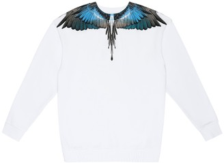 Marcelo Burlon Kids Of Milan Wings cotton sweater