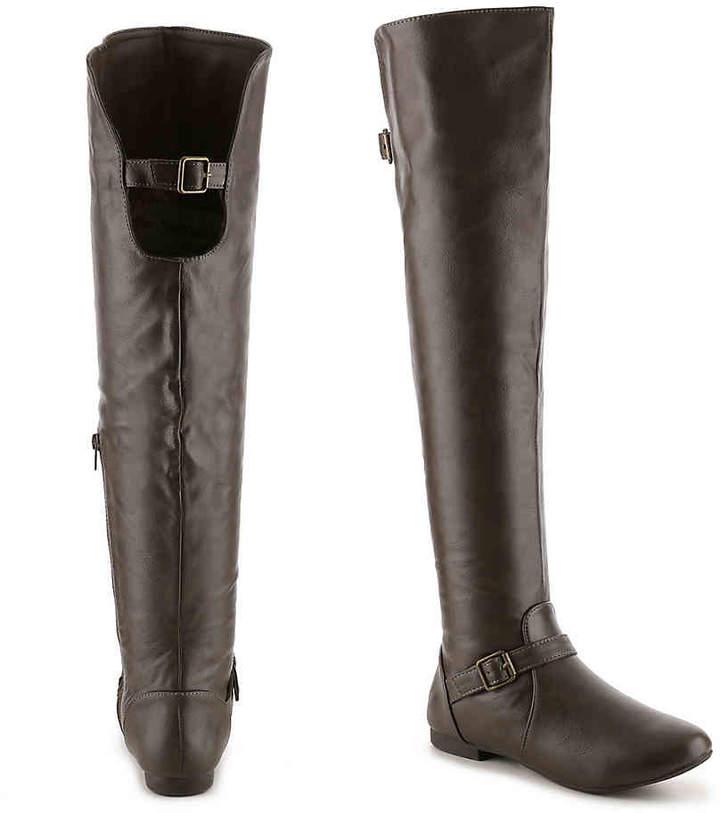 Journee Collection Loft Wide Calf Over The Knee Boot - Women's