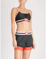 P.E Nation Left Hook stretch-jersey sports bra