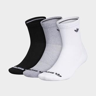 adidas Kids' Trefoil 3-Pack Crew Socks