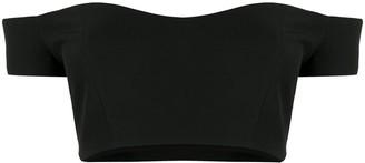 A.W.A.K.E. Mode Off-Shoulder Cropped Top
