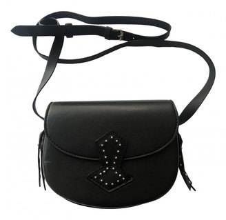 Antik Batik Black Leather Handbags
