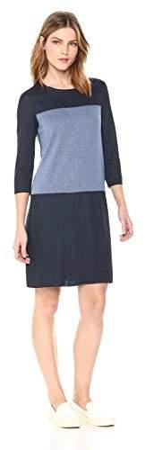38955f2a84d Women's Reversible Colorblock Loose Shirt Dress