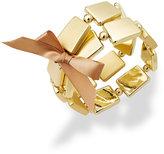 Charter Club Gold-Tone Square Bead Stretch Bracelets Set