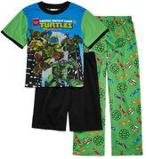 LICENSED PROPERTIES Teenage Mutant Ninja Turtles 3-pc. Pajama Set- Boys 4-12