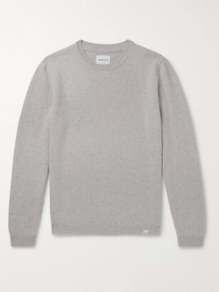 Norse Projects Sigfred Melange Brushed-Wool Sweater