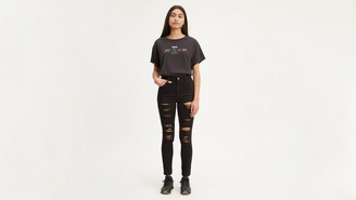 Levi's 720 High Rise Ripped Super Skinny Women's Jeans
