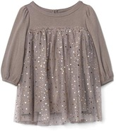 Starry tulle empire dress
