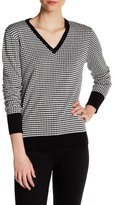 Equipment V-Neck Silk Sweater