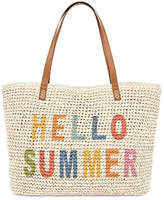 Asstd National Brand Hello Summer Tote Bag