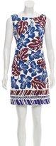 Prada Hawaiian Print Mini Dress