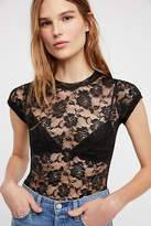 Look From London Lace Layering Cami by at Free People