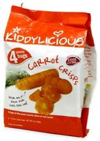 Kiddylicious 4-Pack 0.5 oz. Carrot Crisps
