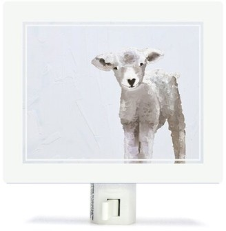 Oopsy Daisy Fine Art For Kids Baby Sheep Night Light