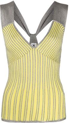 M Missoni Riga knitted top