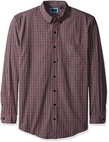 Arrow Men's Big and Tall Long Sleeve Plaid Shirt
