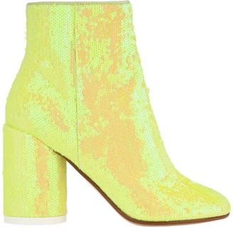 MM6 MAISON MARGIELA Mm6 Sequin-embellished Ankle Boots