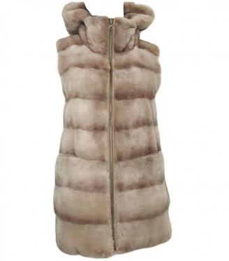 Dennis Basso Beige Mink Jacket for Women