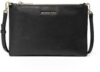 Michael Kors Black Double Pouch Crossbody Bag