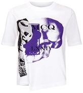 McQ by Alexander McQueen Graphic Printed Crop T-Shirt