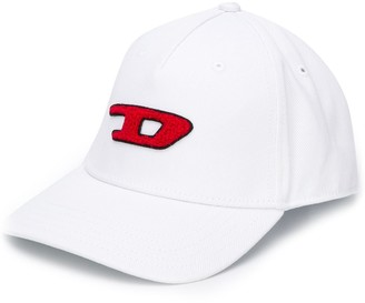 Diesel 3D logo patch baseball cap