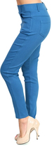 Jane Teal Twill Jeggings