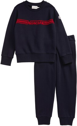 Moncler Kids' Logo Sweatshirt & Sweatpants Set