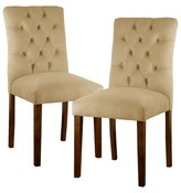 Threshold Brookline Velvet Dining Chair (Set of 2