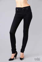 Tight Skinny Jeans in Very Stretch Black