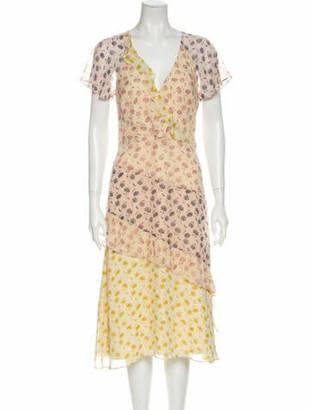 Joie Silk Knee-Length Dress