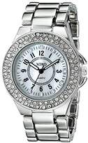 XOXO Women's XO135 Analog Display Analog Quartz Silver Watch