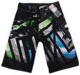 Panda Superstore Mens Swim Trunks Surfing Shorts Loose Boardshorts for Sport 34'' Black