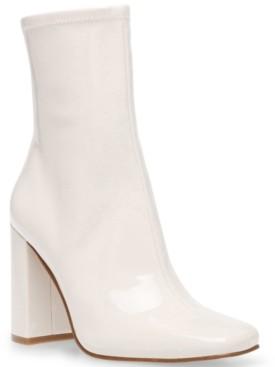 Steve Madden Women's Fulton Square-Toe Sock Booties