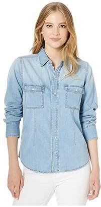 Current/Elliott The Surfwood Shirt (City) Women's Clothing