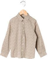 Bonpoint Boys' Floral Button-Up Shirt