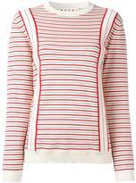 Marni striped sweatshirt - women - Cotton - 40