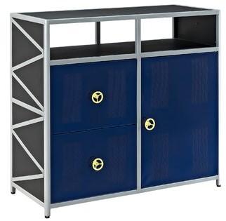 Zoomie Kids Tyntesfield 2 Drawer 1 Door Accent Cabinet