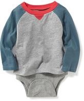 Old Navy 2-in-1 Color-Block Bodysuit for Baby