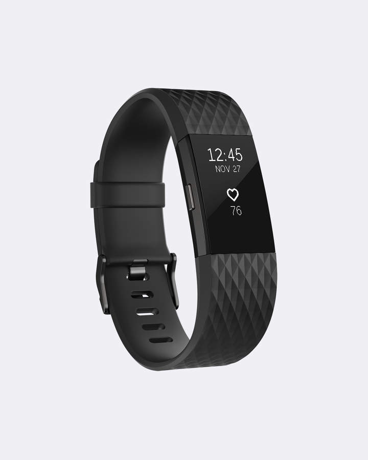 Fitbit Charge 2 Gunmetal Special Edition