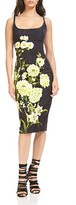 Theia Women's Floral Body-Con Dress