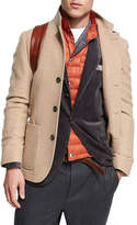 Brunello Cucinelli Cashmere Single-Breasted Jacket