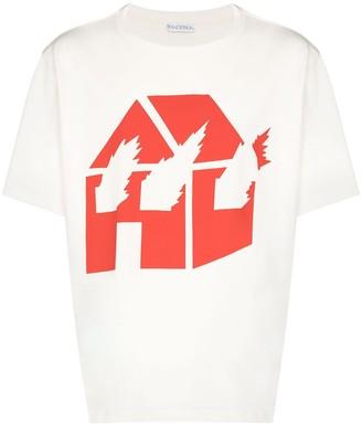 J.W.Anderson x David Wojnarowicz Burning House T-shirt