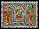 Madhubani painting, 'Bridal Procession'