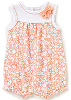 Starting Out Baby Girls Newborn-9 Months Floral-Print Romper
