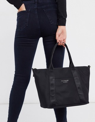 Ted Baker nanccie nylon small tote bag