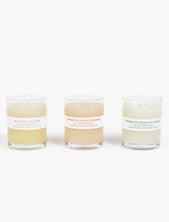 A.P.C. Set of Three Mini Candles