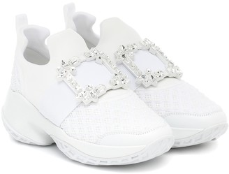 Roger Vivier Viv' Run embellished sneakers