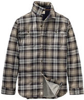 Timberland Sherpa-Lined Plaid Jacket
