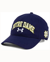 Under Armour Notre Dame Fighting Irish Brushed Twill Adjustable Cap