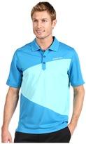 Oakley Striation Polo Shirt (Fluid Blue) - Apparel